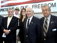 Author & Veteran Jack Coombe; Capt. Lynch; Commissioner Andolino; Capt. Young; Capt. Downey